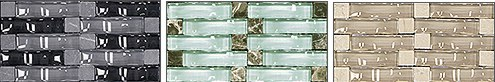 Michigan Bevelled Convex Glass Tile
